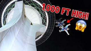 HIGHEST JUMP OF MY LIFE!! (109 FLOORS)
