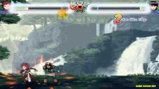 Game Naruto quyết đấu tập 2 - Gara đánh nhau với Kai