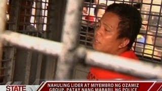 SONA: Pagkamatay ng nahuling lider at miyemrbo ng Ozamiz Group, iniimbestigahan na
