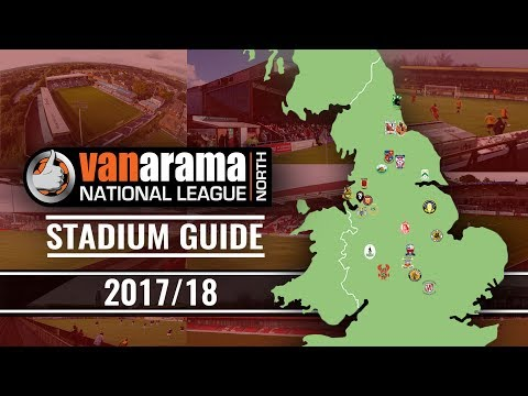 Vanarama National League NORTH Stadiums 2017/18