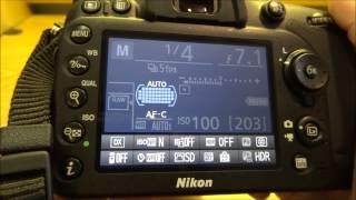 Nikon D7100 Autofocus Quick Tip