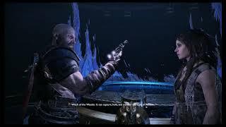 God of War - A Realm Beyond: Travel Room: Freya Gives Kratos Bifrost Tree of Life Cutscene (2018)