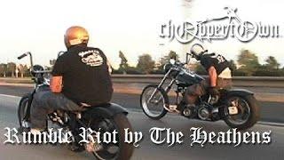 Rumble Riot by The Heathens (Choppertown motorcycle movie - real biker flick)