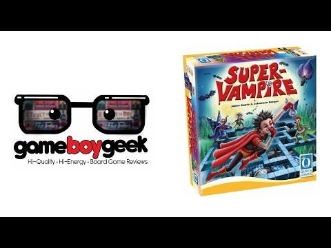 The Game Boy Geek Reviews Super Vampire