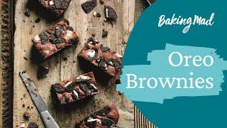 How to make oreo brownies