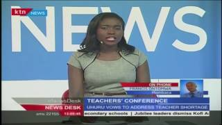 President Uhuru Kenyatta addresses teachers over shortages