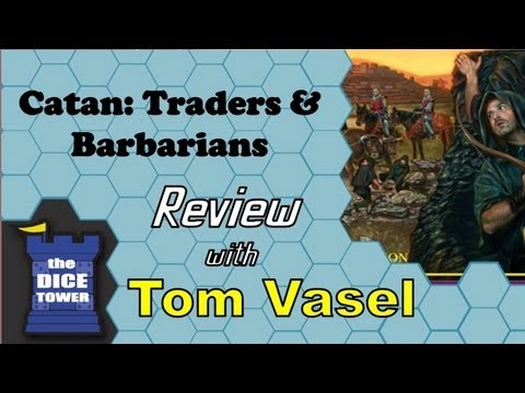 [Video Review] Catan: Traders & Barbarians