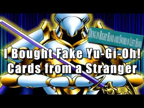 I Bought Fake Yu-Gi-Oh! Cards from a Stranger