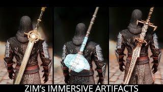WHAT DRAGONBORN DESERVES! Skyrim Mods - Zim's Immersive Artifacts