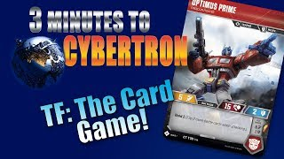 3 Minutes to Cybertron: Transformers Card Game