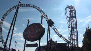 preview picture of video 'Saw - The Ride - Thorpe Park - TPR UK Trip 2010'