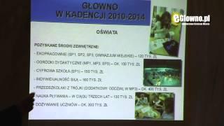 preview picture of video 'Jak zmieniło się Głowno w latach 2010-214'