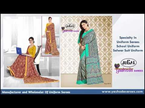 Functional Uniform Saree
