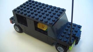 Делаем Хаммер из Лего