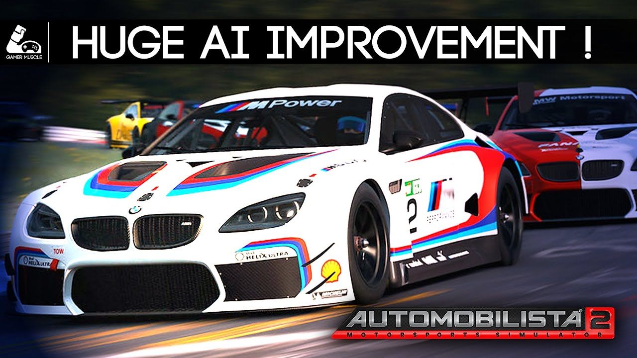 GamerMuscle: Automobilista 2 huge AI improvement