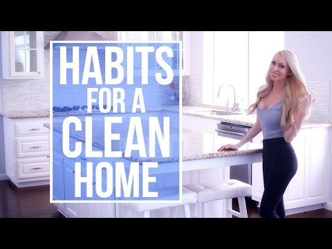 Habits For Keeping A Clean House! My Daily Cleaning Routine Mp3