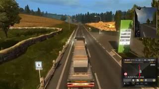 Из Карлисле в Шеффилд перевозим Вентеляционную трубу 4т.  #21 - Euro Truck Simulator 2