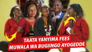 Amaziiga ku graduation ya muwala wa pastor #Bugiingo. Omwana agamba taata we yagaana okumuwa fees