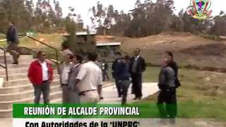 preview picture of video 'Visita de Autoridades de la UNPRG a la Filial Cutervo'
