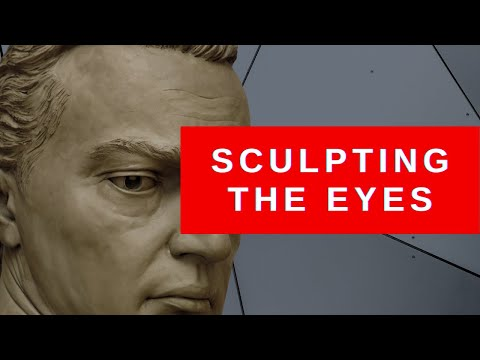 EYES - Online Sculpture Class - How to Sculpt Eyes that Look Realistic - Marcello Giorgi Sculptor.