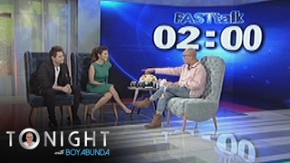TWBA: Fast Talk with Enrique Gil and Liza Soberano