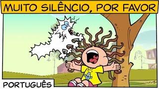 Muito silêncio, por favor | Turma da Mônica