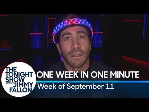 One Week in One Minute: Week of September 11
