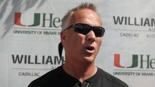 Hear what Coach Richt had to say after today's scrimmage the first of the spring