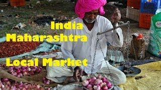 preview picture of video 'India - Maharashtra - Aurangabad / Local Market'