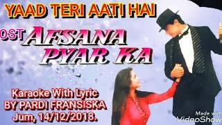 YAAD TERI AATI HAI Karaoke With Lyric OST   - YouTube