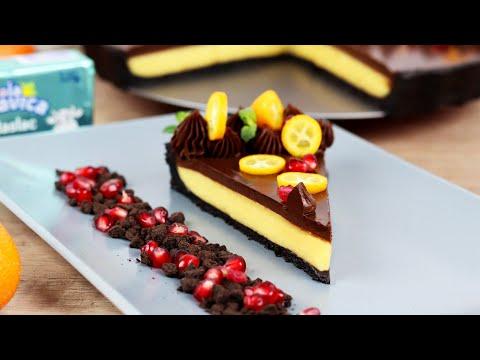 Tart sa čokoladom i pomorandžom