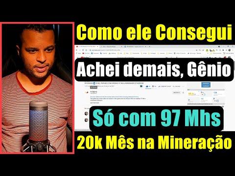 20 Mil Por Mês na Mineração, Como Assim ? Com 97 Mhs