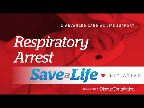 7a. Respiratory Arrest, Advanced Cardiac Life Support (ACLS ...