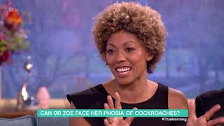 Can Dr Zoe Beat Her Phobia of Cockroaches? | This Morning