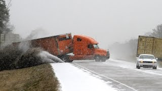 Ice Road Truckers: Dangerous Accidents - HD Documentary