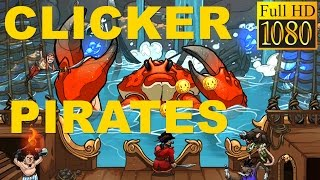 Clicker Pirates - Tap To Fight Game Review 1080P Official Grogshot Role Playing 2016
