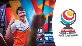 Sjef van den Berg v Tomatsu Daisuke – recurve men's gold final  Yankton 2018