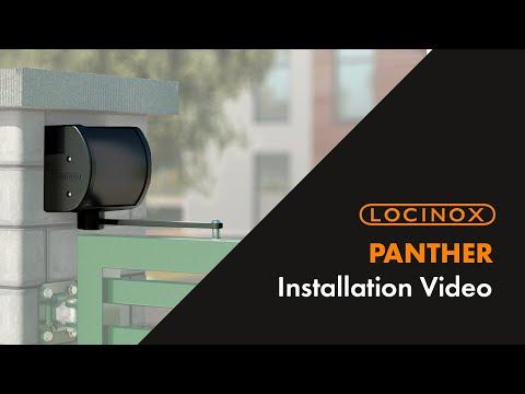 Ferme-portail polyvalent Panther Locinox