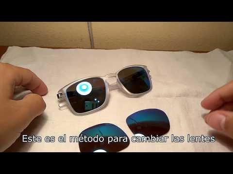 Cómo cambiar cristales gafas de sol OAKLEY Latch Square