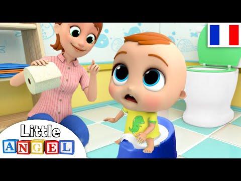 Apprendre la propreté - Le Petit Pot - Comptines pour Bébé   Little Angel Français