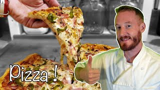 PIZZA 🍕 [FAST and EASY Recipe] 👨🍳🌾👩🍳