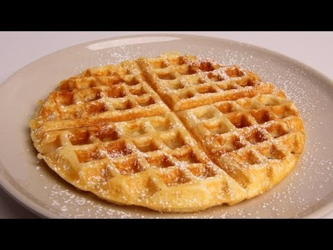 Homemade Waffles Recipe – Laura Vitale – Laura in the Kitchen Episode 326