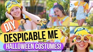 DIY Despicable Me Halloween Costumes: Minion And Agnes!
