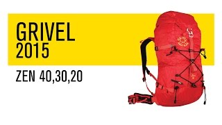 Grivel 2015 Zen Family of Rucksacks