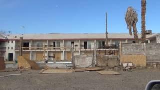Our Drive To Abandoned Creepy Royal Hawaiian Motel  Baker California
