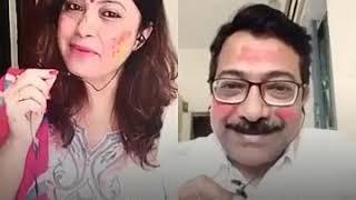 Holi ke din dil khil jaate hain ...with Srikumar Bhattacharya