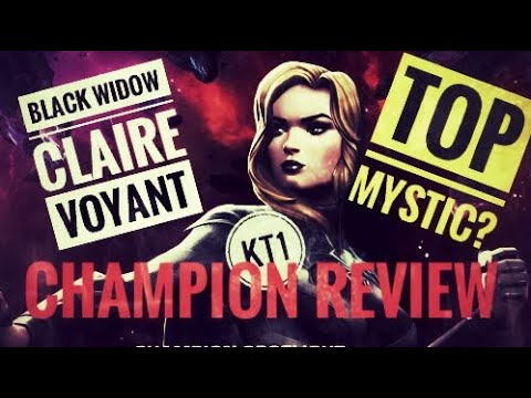 Black Widow Claire Voyant Review! New Mystic God, Or Utility Noode?!
