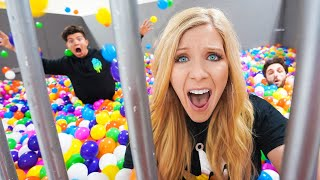 I Filled my Prison with 100,000 Ball Pit Balls!