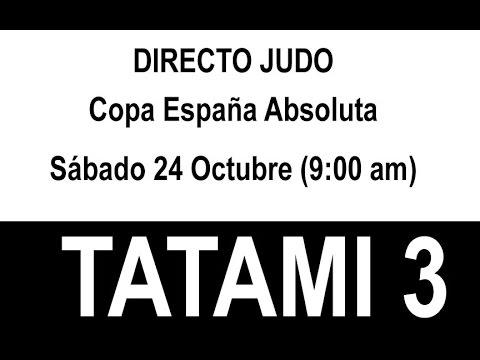 Copa de España Absoluta Tatami 3