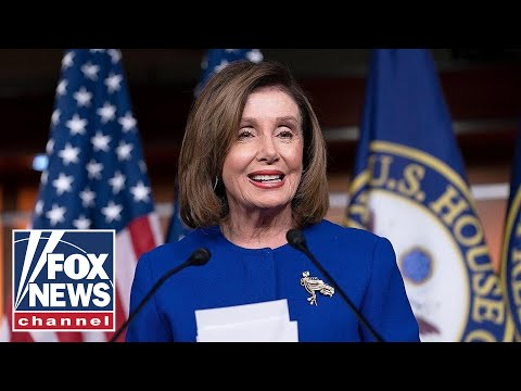 Live: Pelosi holds weekly press conference